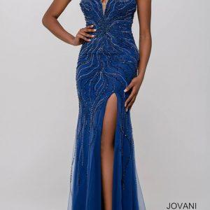 Nová kolekcia-krásne kamienkové šaty v modrej farbe