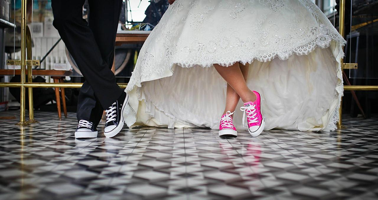 svadobne topanky