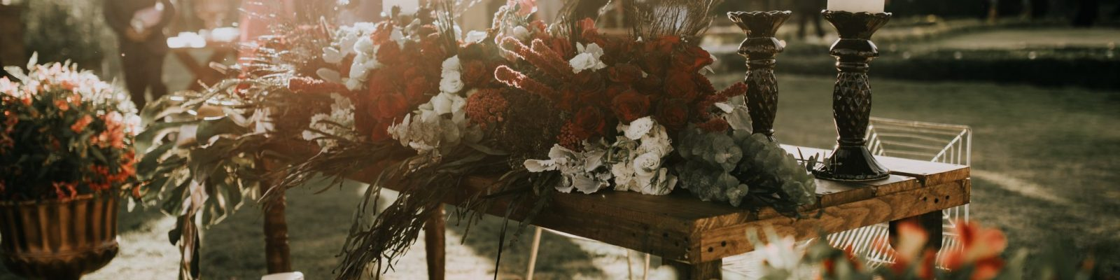 svadba vonku